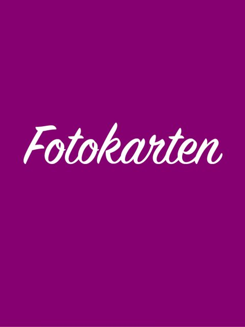 Digitale Fotokarten